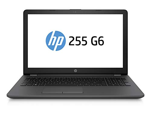 HP 255 G6 Notebook PC, Sistema operativo Windows 10 Pro 64, APU AMD A6-9225, 8 GB di RAM, SSD da 256...