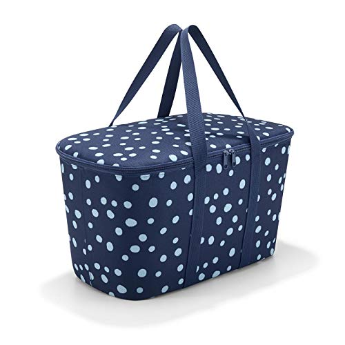 Reisenthel uh4044 collerbag spots navy cestino per la spesa in poliestere 24,5 x 44,5 x 25 cm
