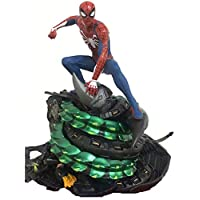 UanPlee-SC Gift anime model Collection of Toys for Children Anime Statue Avengers Spiderman Anime model in decoration box 19cm