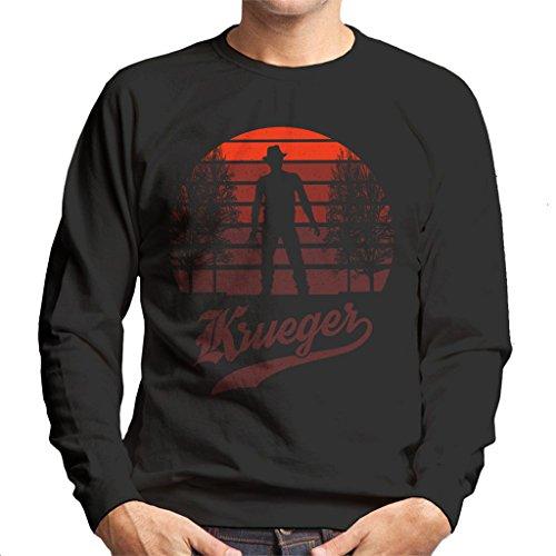 Nightmare On Elm Street Freddy Krueger Sunset Men's Sweatshirt