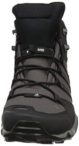 adidas Terrex Swift R Mid, Scarpe da Arrampicata Alta Uomo Multicolore (Granite/core Black/ch Solid Grey)