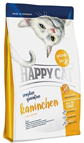 Getreide Ohne Katzenfutter (Happy Cat Grainfree Kaninchen, 1er Pack (1 x 1.4 kg))