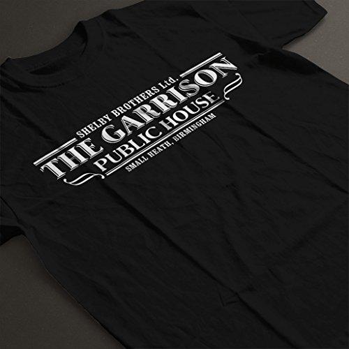 Cloud City 7 Peaky Blinders The Garrison Public House Women's T-Shirt Black