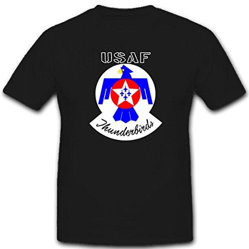 usaf-thunderbirds-united-states-air-force-kunstflugstaffel-flugshow-f-16-wappen-emblem-t-shirt-herre