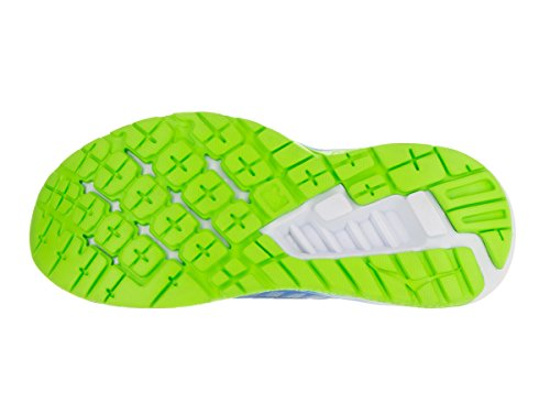 Hoka One One Clayton Bright Green French Blue Blau