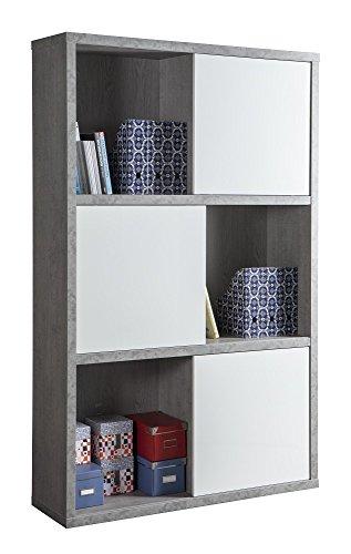 Composad Büro Linie praktisch Kit Bücherregal 35,5x 120x 194,5h Schiebetüren (Bücherregal Kit)