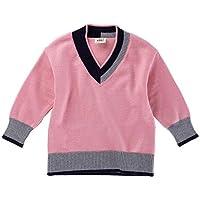 Yukeyy 1-6 Jahren Mädchen Jungen Strickpullover Winter Jumper Pullover Langarm Sweatshirt