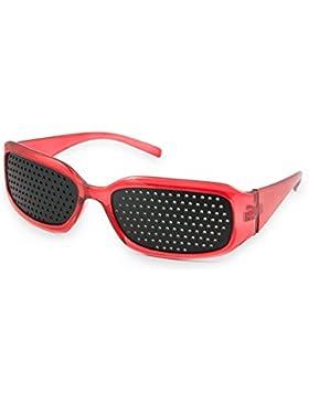 Negro Vista mejora de Vision Care exercise eyewear estenopeica gafas marca 4sold