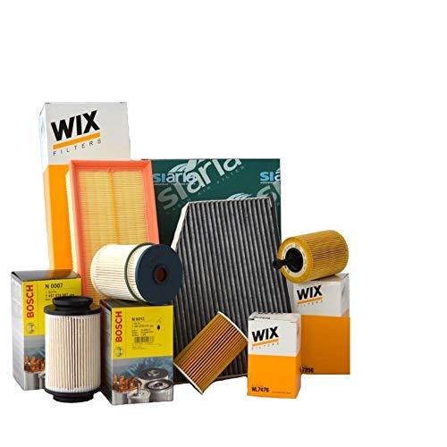 Kit tagliando 4 FILTRI WIX (WL7296, WF8308 OPPURE WF8355, WA6781, V3683)