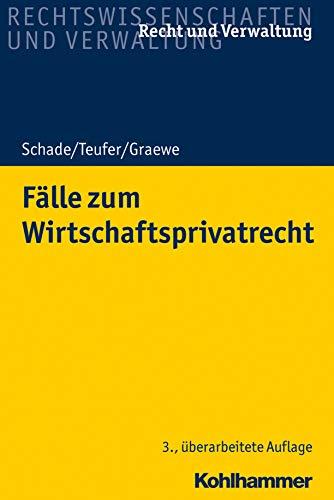 Fälle zum Wirtschaftsprivatrecht (Recht und Verwaltung)
