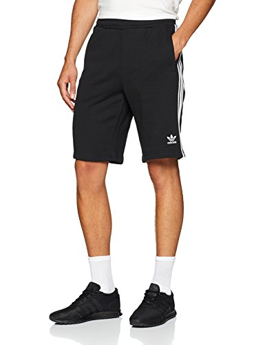 adidas Herren 3-Stripes Shorts, Black, S -