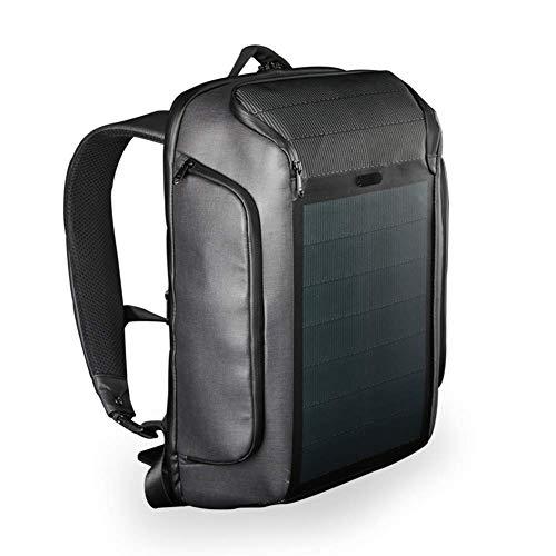 WYX Outdoor-Rucksack, The Most Advanced Solar Power Rucksack wasserdicht, Anti-Theft 15,6