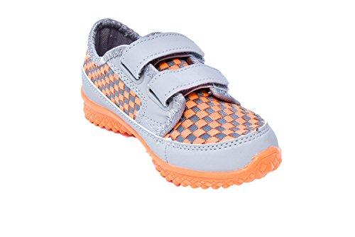 TMY tM349 coque enfant gris/orange taille :  25–36 Multicolore - Grau/ Orange