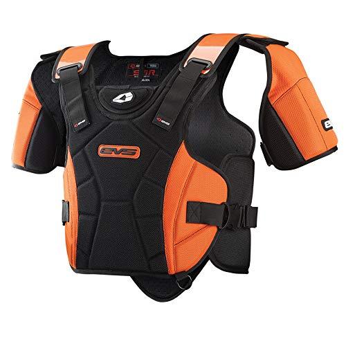 EVS Sports SV1-Race Snowmobile Vest, Adult,  Black, Größe X-Small/Small Sv1 Auto