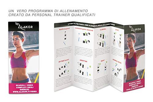 Zoom IMG-5 kit 6 elastici fitness fasce