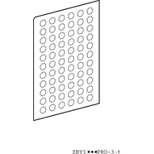 Schneider elec pic - mss 40 17 - Plancha 66 etiqueta redondo transparente sin marcado