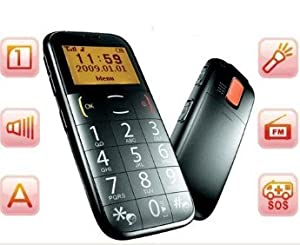 Big Button Mobile phone for the elderly or disabled