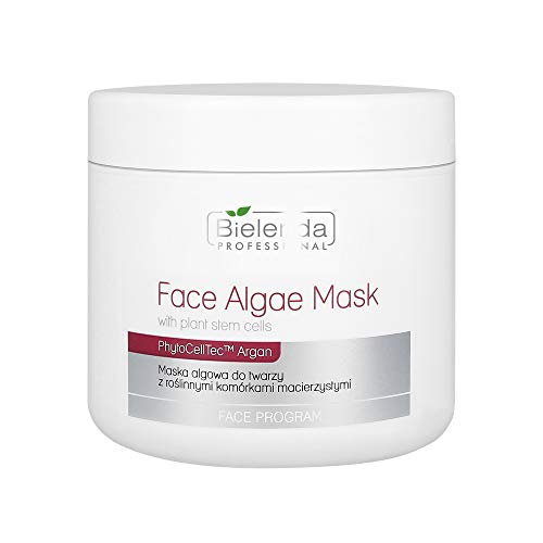 Bielenda Face Algae Mask with Plant Stem Cells and Argan 190g