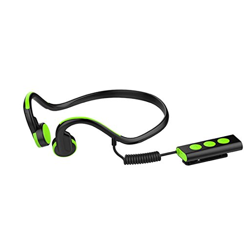 Joyeer Connessione Bluetooth wireless per l osso sport Cuffie Neckband  stereo NFC Hands-Free 87fd14be8167