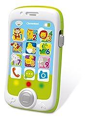 """Clementoni 14969Un divertente Smartphone educativo per """"telefonare"""" come mamma e papà. È un vero centro attività parlante per andare alla scoperta degli animali grazie a 13 tastoni e 3 attività interattive davvero divertenti e coinvolgenti. Con tante..."""