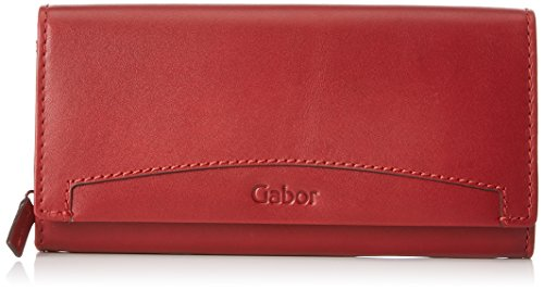 Gabor Damen Mariella Geldbörse, (Rot), 3x10x19 cm 7780 Serie