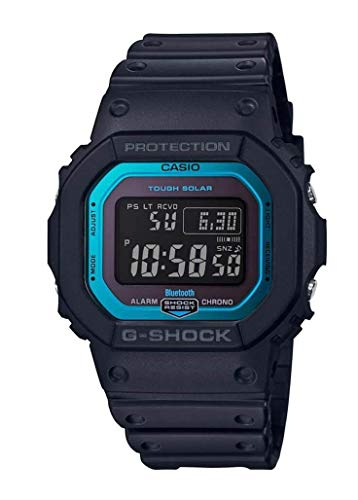 CASIO Herren Digital Quarz Uhr mit Resin Armband GW-B5600-2ER