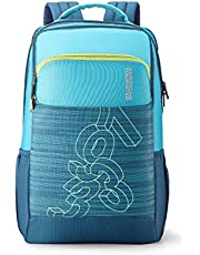 American Tourister Jet 28 Ltrs Turquoise Casual Backpack (FE0 (0) 64 001)