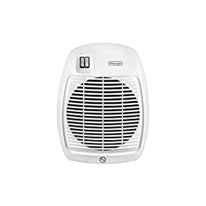 De'Longhi Termoventilatore HVA 0220, Solamente per Riscaldamento, 1000/2000 W, Per stanze fino a 60 m³, Bianco 41Wjy%2BKOSJL. SS300