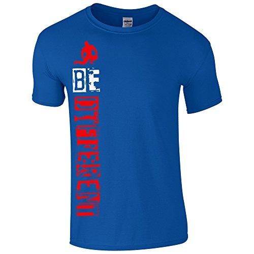 UKPrintwear -  T-shirt - Uomo Royal Blue