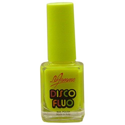 La Femme 12 ml vernis à ongles Disco Fluo sans 001