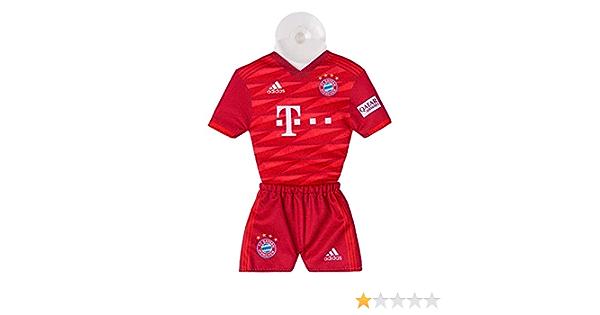 Bundesliga Football /Équipe Fcb Bayern Munich Mini Kit Accueil 2019//2020 Maillot Maillot Home avec Ventouse