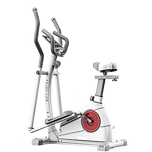 Lmycrs Máquina Elíptica 2-en-1 elíptica de la Bicicleta estática-Fitness Cardio Pérdida de Peso...