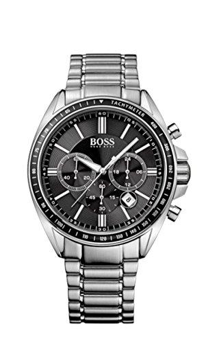 Hugo Boss - Orologio da polso, cronografo al quarzo, acciaio INOX