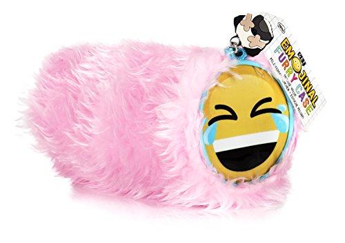 NPW Estuche escolar con emoticono – Peluche rosa, de Get Emojinal
