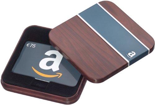 Amazon.de Geschenkkarte in Geschenkbox - 75 EUR (Retro)
