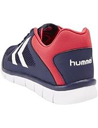 Hummel Effectus Fit zapatillas de colour azul-rojo (Evening Colour AZUL) Talla:38 EU