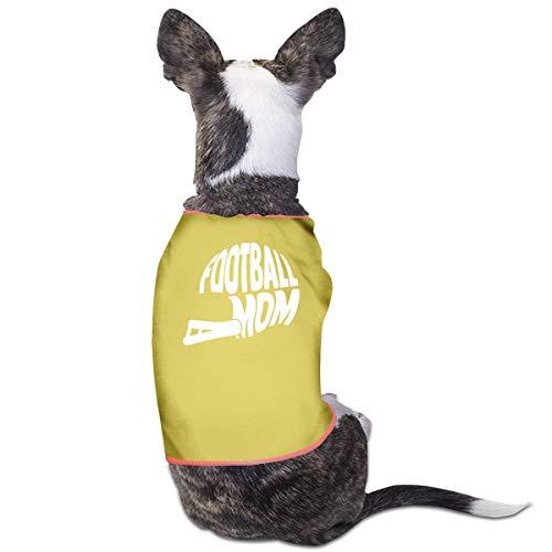 XY Shop Hunde-Kostüm mit Aufschrift Football Mom