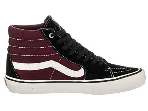 Vans SK8 Hi Pro Shoes Black/Port