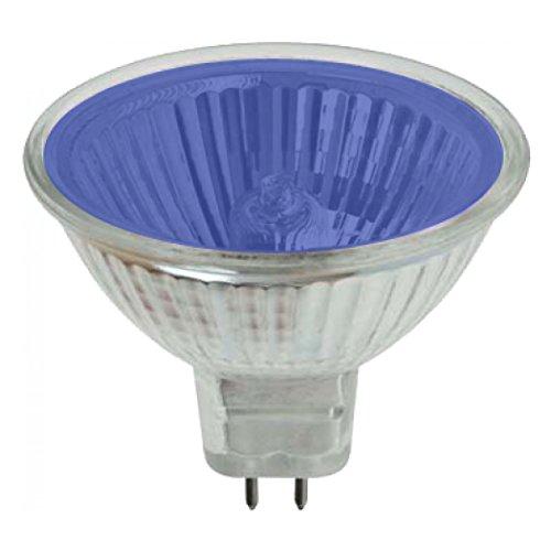 Farbige Mr16 Leuchtmittel (Pro-Lite 20W Blau MR16Halogen Spot Leuchtmittel (Farbige, geringe Spannung, GU5.3, G5.3))