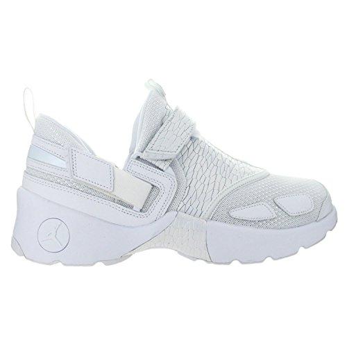 Jordan 5y Schuhe (Jordan Nike Kids Trunner LX PR HC White/PurePlatinum 897997-100 (Size: 5Y))