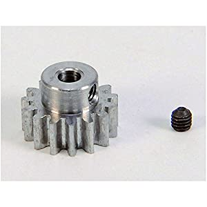 Carson 500013405-Piñón de Motor, 15Dientes, M 0.8Acero