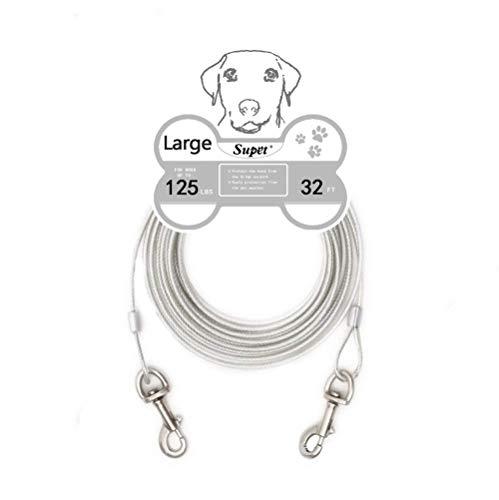 Hund Tie Out Kette - Supet Tie Out Cables Tie-Out Leinen