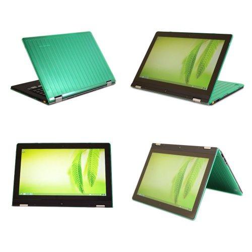 'mCover Hardcases für Lenovo Yoga 2pro-13Ersatzteil Convertible Multimodalität 13.3(* * NICHT kompatibel mit jedem 13.3Zoll Yoga/Yoga 2/Yoga 3Typ * *)–Grün (Lenovo Laptop Yoga 2-case)