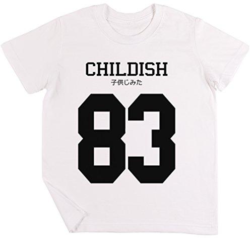Childish Jersey Kinder Jungen Mädchen Unisex T-Shirt Weiß - Shirt Lil Wayne Rosa