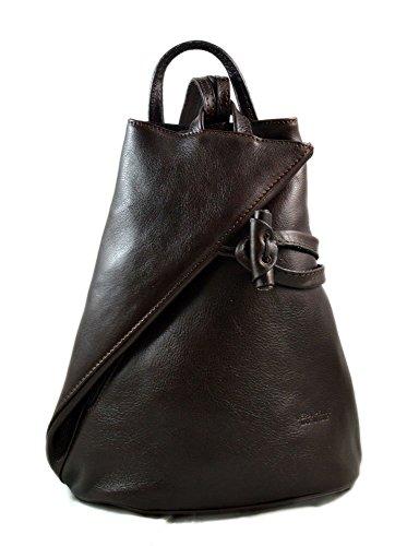 2e8d3fe1af Zaino pelle uomo donna borsa palestra zaino scuola borsello lavoro zaino in pelle  borsa pelle viaggio tracolla a mano testa moro