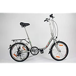 41Wk1Kh0ikL. SS300  - GermanXia Comfort Folding Bike 20 Inch 1-Speed with Backpedal Brakes