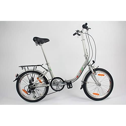 41Wk1Kh0ikL. SS500  - GermanXia Comfort Folding Bike 20 Inch 1-Speed with Backpedal Brakes
