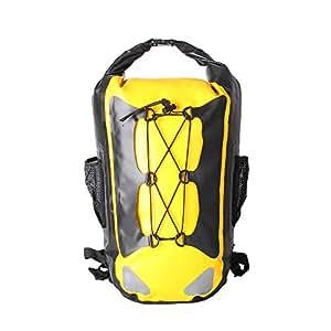 Esone - Borsa Impermeabile / Waterproof Dry Bag / Doppia Cinghia di Trasporto / Kit impermeabile con Sacco Dry Bag / Piscine, Nave, Trekking, Kayak, Canoa, Pesca, Rafting, Nuoto, Campeggio, Sci (B)