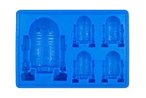 Star Wars GZ165 R2-D2 Ice Cube Tray and Baking Mould 15.2 x 11 x 2.7 cm