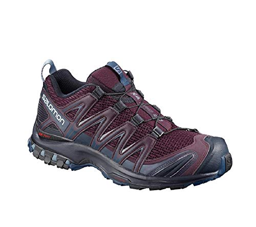 Salomon XA PRO 3D W, Scarpe da Trail Running Donna, Viola (Potent Purple/Navy Blazer/Bluestone), 38 2/3 EU